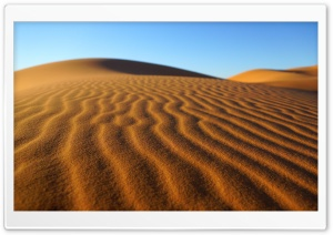 Erg Chebbi Dunes HD Wide Wallpaper for Widescreen