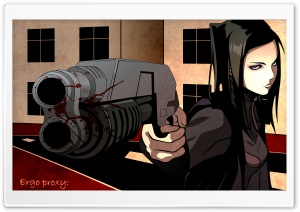 Ergo Proxy Re l Mayer II HD Wide Wallpaper for Widescreen