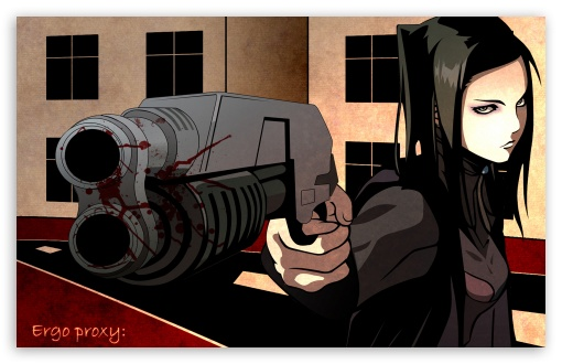 Ergo Proxy Re l Mayer II HD wallpaper for Wide 16:10 5:3 Widescreen WHXGA WQXGA WUXGA WXGA WGA ; Mobile 5:3 16:9 - WGA WQHD QWXGA 1080p 900p 720p QHD nHD ;