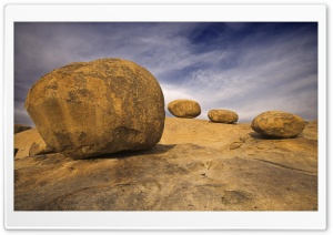 Eroded Granite Boulders Erongo Mountains Namibia HD Wide Wallpaper for Widescreen
