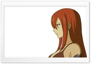 Erza HD Wide Wallpaper for Widescreen
