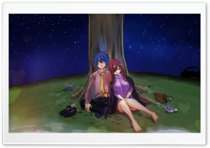 Erza and Jellal Ultra HD Wallpaper for 4K UHD Widescreen desktop, tablet & smartphone