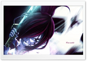 Erza Scarlet HD Wide Wallpaper for Widescreen