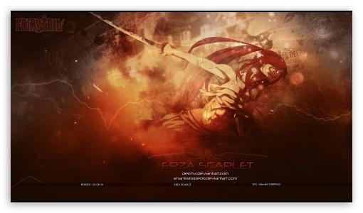 Erza Scarlet 4k Hd Desktop Wallpaper For 4k Ultra Hd Tv