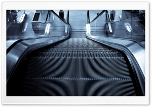 Escalator HD Wide Wallpaper for Widescreen