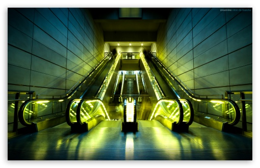 Escalators HD wallpaper for Wide 16:10 5:3 Widescreen WHXGA WQXGA WUXGA WXGA WGA ; HD 16:9 High Definition WQHD QWXGA 1080p 900p 720p QHD nHD ; Standard 3:2 Fullscreen DVGA HVGA HQVGA devices ( Apple PowerBook G4 iPhone 4 3G 3GS iPod Touch ) ; Mobile 5:3 3:2 16:9 - WGA DVGA HVGA HQVGA devices ( Apple PowerBook G4 iPhone 4 3G 3GS iPod Touch ) WQHD QWXGA 1080p 900p 720p QHD nHD ;
