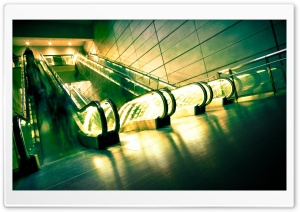 Escalators HD Wide Wallpaper for Widescreen