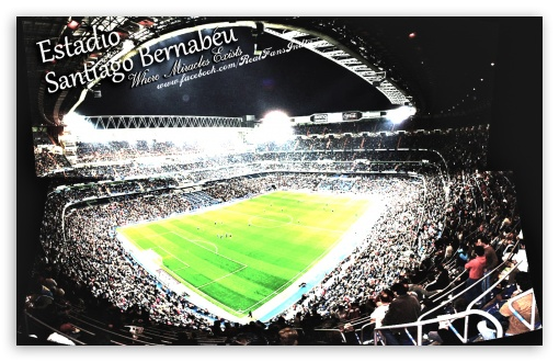 Download Estadio Santiago Bernabeu HD Wallpaper