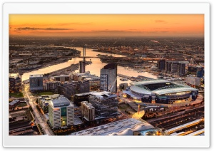 Etihad Stadium View HD Wide Wallpaper for Widescreen