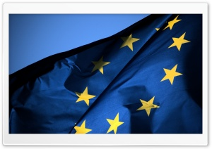 EU Flag HD Wide Wallpaper for Widescreen
