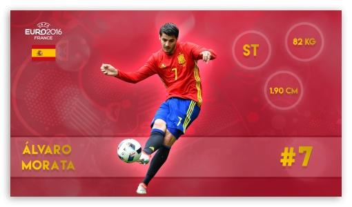 Alvaro Morata 4K HD Desktop Wallpaper For 4K