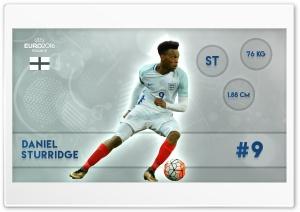 Euro 2016 - Daniel Sturridge HD Wide Wallpaper for Widescreen