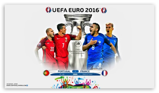 EURO 2016 FINAL ❤ 4K UHD Wallpaper for 4K UHD 16:9 Ultra High Definition 2160p 1440p 1080p 900p 720p ; Tablet 1:1 ; Mobile 16:9 - 2160p 1440p 1080p 900p 720p ;