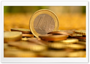 Euro Cents HD Wide Wallpaper for Widescreen