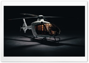 Eurocopter EC135 Helicopter HD Wide Wallpaper for Widescreen