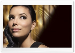 Eva Longoria HD Wide Wallpaper for Widescreen