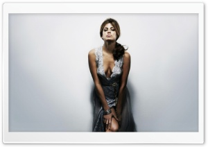 Eva Mendes 14 HD Wide Wallpaper for Widescreen