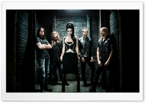 Evanescence 2011 HD Wide Wallpaper for Widescreen