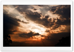 Evening Clouds HD Wide Wallpaper for Widescreen