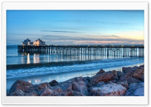 Evening In Malibu HD Wide Wallpaper for Widescreen