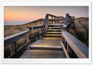 Evening In Westerland HD Wide Wallpaper for Widescreen