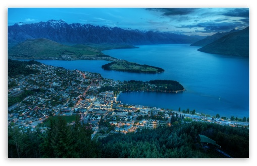 Evening Over Queenstown HD wallpaper for Wide 16:10 5:3 Widescreen WHXGA WQXGA WUXGA WXGA WGA ; HD 16:9 High Definition WQHD QWXGA 1080p 900p 720p QHD nHD ; UHD 16:9 WQHD QWXGA 1080p 900p 720p QHD nHD ; Standard 4:3 5:4 3:2 Fullscreen UXGA XGA SVGA QSXGA SXGA DVGA HVGA HQVGA devices ( Apple PowerBook G4 iPhone 4 3G 3GS iPod Touch ) ; Tablet 1:1 ; iPad 1/2/Mini ; Mobile 4:3 5:3 3:2 16:9 5:4 - UXGA XGA SVGA WGA DVGA HVGA HQVGA devices ( Apple PowerBook G4 iPhone 4 3G 3GS iPod Touch ) WQHD QWXGA 1080p 900p 720p QHD nHD QSXGA SXGA ;