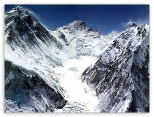 Everest Range 4k Hd Desktop Wallpaper For