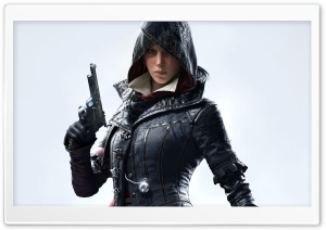 Evie Frye, Assassins Creed Syndicate 2015 video game HD Wide Wallpaper for Widescreen