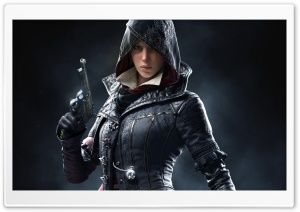 Evie Frye, Assassins Creed Syndicate Game 2015 HD Wide Wallpaper for Widescreen