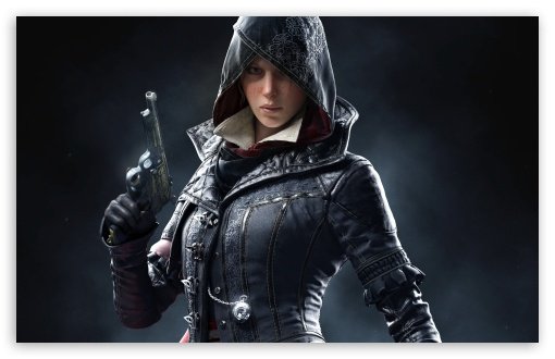 Evie Frye, Assassins Creed Syndicate Game 2015 UltraHD Wallpaper for Wide 16:10 5:3 Widescreen WHXGA WQXGA WUXGA WXGA WGA ; 8K UHD TV 16:9 Ultra High Definition 2160p 1440p 1080p 900p 720p ; UHD 16:9 2160p 1440p 1080p 900p 720p ; Standard 4:3 5:4 3:2 Fullscreen UXGA XGA SVGA QSXGA SXGA DVGA HVGA HQVGA ( Apple PowerBook G4 iPhone 4 3G 3GS iPod Touch ) ; Smartphone 5:3 WGA ; Tablet 1:1 ; iPad 1/2/Mini ; Mobile 4:3 5:3 3:2 16:9 5:4 - UXGA XGA SVGA WGA DVGA HVGA HQVGA ( Apple PowerBook G4 iPhone 4 3G 3GS iPod Touch ) 2160p 1440p 1080p 900p 720p QSXGA SXGA ; Dual 16:10 5:3 4:3 5:4 WHXGA WQXGA WUXGA WXGA WGA UXGA XGA SVGA QSXGA SXGA ;