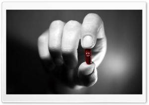 Evil Pill HD Wide Wallpaper for Widescreen