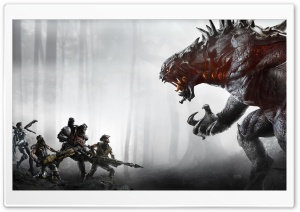 Evolve Video Game 2015 HD Wide Wallpaper for Widescreen