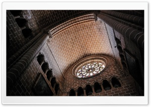 Evora Cathedral HD Wide Wallpaper for Widescreen
