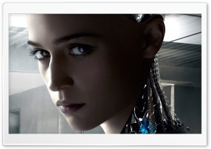 Ex Machina 2015 Ava HD Wide Wallpaper for Widescreen