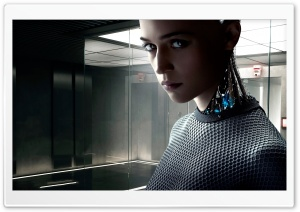 Ex Machina 2015 Movie HD Wide Wallpaper for Widescreen
