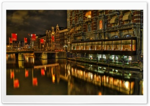 Excelsior Hotel In Amsterdam HD Wide Wallpaper for Widescreen