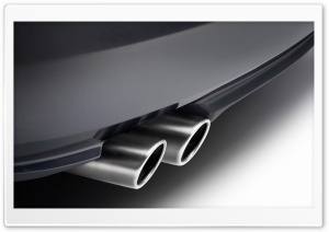 Exhaust Pipes 1 HD Wide Wallpaper for Widescreen