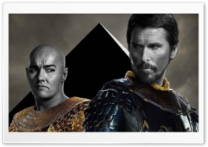 Exodus Gods and Kings   Egyptian Princes Moses and Ramses HD Wide Wallpaper for Widescreen