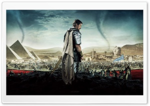 Exodus Gods and Kings Christian Bale HD Wide Wallpaper for 4K UHD Widescreen desktop & smartphone
