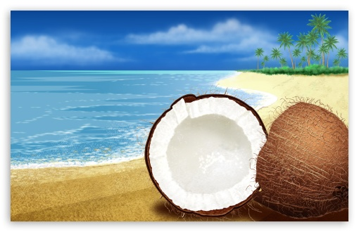 Exotic Coconut On The Beach HD wallpaper for Wide 16:10 5:3 Widescreen WHXGA WQXGA WUXGA WXGA WGA ; HD 16:9 High Definition WQHD QWXGA 1080p 900p 720p QHD nHD ; Standard 4:3 5:4 3:2 Fullscreen UXGA XGA SVGA QSXGA SXGA DVGA HVGA HQVGA devices ( Apple PowerBook G4 iPhone 4 3G 3GS iPod Touch ) ; Tablet 1:1 ; iPad 1/2/Mini ; Mobile 4:3 5:3 3:2 16:9 5:4 - UXGA XGA SVGA WGA DVGA HVGA HQVGA devices ( Apple PowerBook G4 iPhone 4 3G 3GS iPod Touch ) WQHD QWXGA 1080p 900p 720p QHD nHD QSXGA SXGA ;