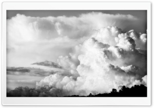 Explosive Clouds HD Wide Wallpaper for Widescreen
