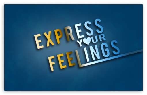 Express Yours Feelings 4k Hd Desktop Wallpaper For 4k