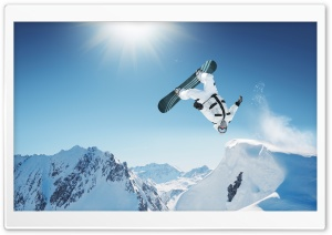 Extreme Snowboarding HD Wide Wallpaper for 4K UHD Widescreen desktop & smartphone