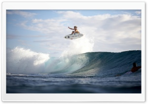 Extreme Surfing Ultra HD Wallpaper for 4K UHD Widescreen desktop, tablet & smartphone