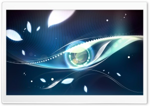 Eye HD Wide Wallpaper for Widescreen