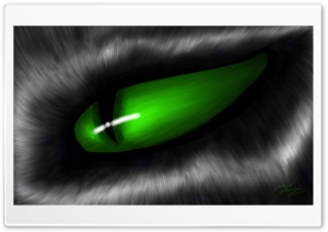 Eye Drawing HD Wide Wallpaper for Widescreen