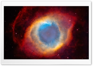 Eye Of God Nebula HD Wide Wallpaper for Widescreen