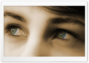 Eyes HD Wide Wallpaper for Widescreen