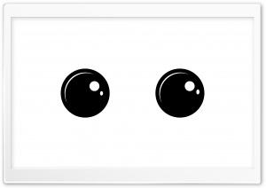 Eyes - White Ultra HD Wallpaper for 4K UHD Widescreen desktop, tablet & smartphone