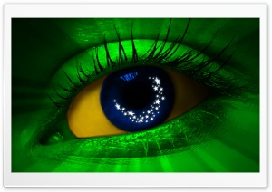 Eyes Of Brazil HD Wide Wallpaper for Widescreen
